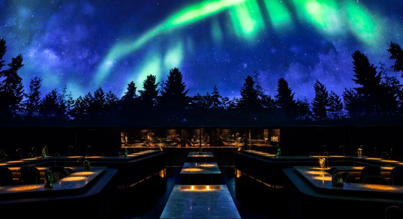 High-End Restaurant Design That Takes On An Ethereal Journey (1)