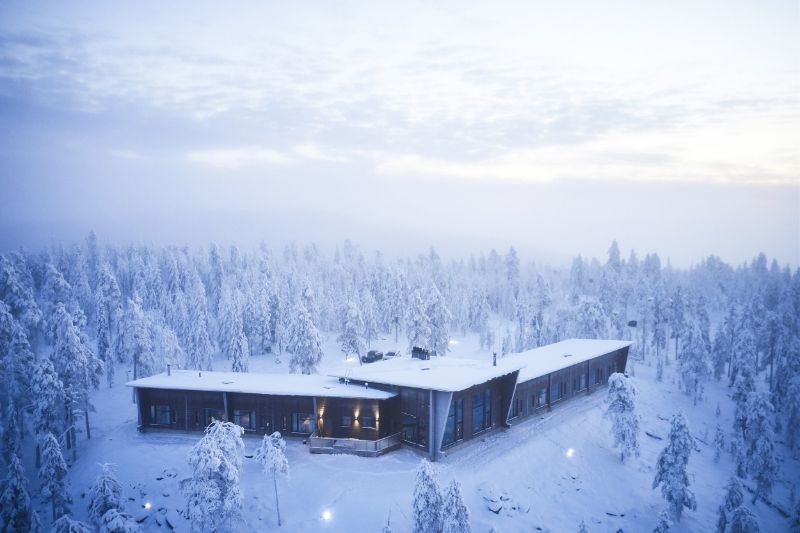 Icy Luxury Retreats In The Artic Circle (12) luxury retreat Luxury Retreats In The Arctic Circle That Defy Nature's Laws Icy Luxury Retreats In The Artic Circle 12