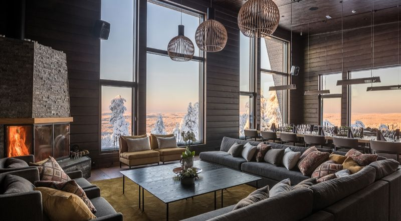 Icy Luxury Retreats In The Artic Circle (13) luxury retreat Luxury Retreats In The Arctic Circle That Defy Nature's Laws Icy Luxury Retreats In The Artic Circle 13