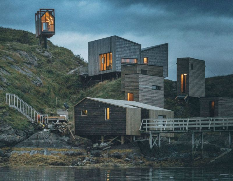 Icy Luxury Retreats In The Artic Circle (6) luxury retreat Luxury Retreats In The Arctic Circle That Defy Nature's Laws Icy Luxury Retreats In The Artic Circle 6