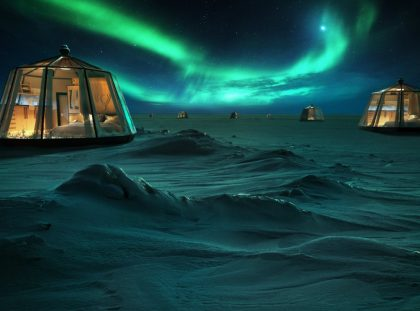 Icy Luxury Retreats In The Artic Circle luxury retreat Icy Luxury Retreats In The Artic Circle Icy Luxury Retreats In The Artic Circle ft 1 420x311