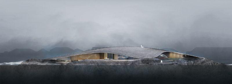 "Dorte Mandrup Designs The Wale Inside The Artic Circle (2) dorte mandrup Dorte Mandrup Designs ""The Wale"" Inside The Arctic Circle Dorte Mandrup Designs The Wale Inside The Artic Circle 2"