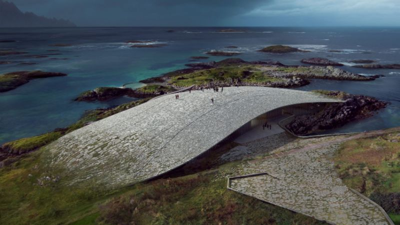 "Dorte Mandrup Designs The Wale Inside The Artic Circle (4) dorte mandrup Dorte Mandrup Designs ""The Wale"" Inside The Arctic Circle Dorte Mandrup Designs The Wale Inside The Artic Circle 4"