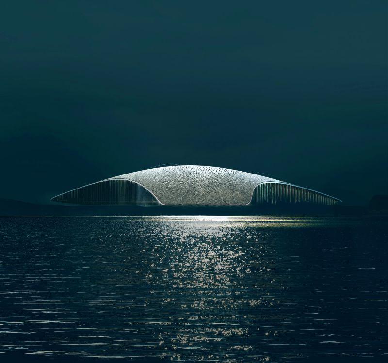 "Dorte Mandrup Designs The Wale Inside The Artic Circle (8) dorte mandrup Dorte Mandrup Designs ""The Wale"" Inside The Arctic Circle Dorte Mandrup Designs The Wale Inside The Artic Circle 8"