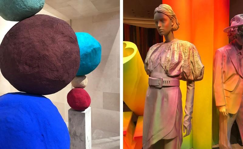 Peter Marino Creates A Modern Instalation For Louis Vuitton (9)