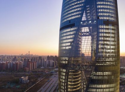 Zaha Hadid Architects Complete An Imposing Building In Beijin ft