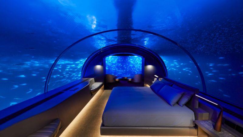 Underwater Bedroom Is The Ultimate Luxury Experience in Maldives (10) luxury experience Underwater Bedroom Is The Ultimate Luxury Experience in Maldives Underwater Bedroom Is The Ultimate Luxury Experience in Maldives 10