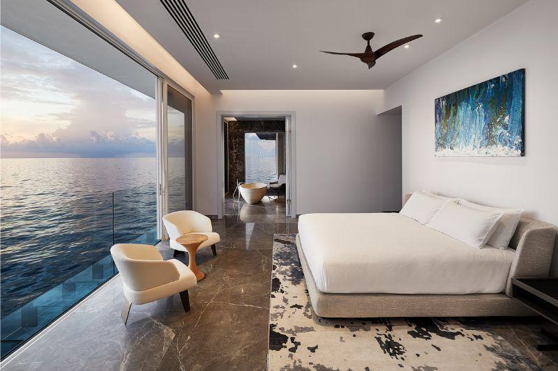 Underwater Bedroom Is The Ultimate Luxury Experience in Maldives (7) luxury experience Underwater Bedroom Is The Ultimate Luxury Experience in Maldives Underwater Bedroom Is The Ultimate Luxury Experience in Maldives 7 1