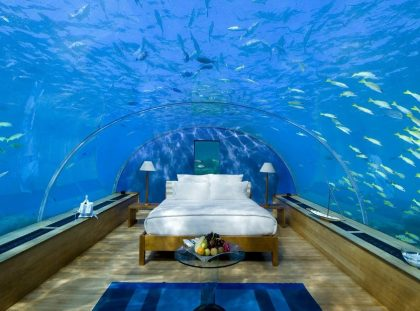 Underwater Bedroom Is The Ultimate Luxury Experience in Maldives ft luxury experience Underwater Bedroom Is The Ultimate Luxury Experience in Maldives Underwater Bedroom Is The Ultimate Luxury Experience in Maldives ft 420x311