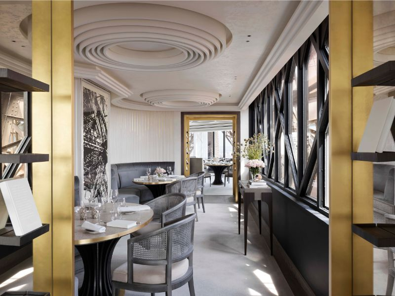 luxury restaurant Rediscover Le Jules Verne, A Luxury Restaurant Inside The Eiffel Tower Rediscover Le Jules Verne A Luxury Restaurant Inside The Eiffel Tower 10