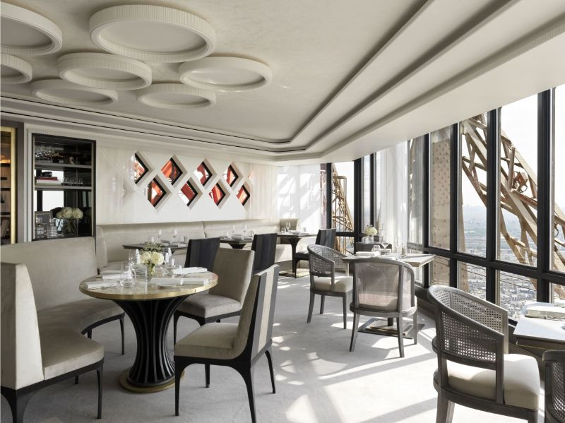 luxury restaurant Rediscover Le Jules Verne, A Luxury Restaurant Inside The Eiffel Tower Rediscover Le Jules Verne A Luxury Restaurant Inside The Eiffel Tower 5