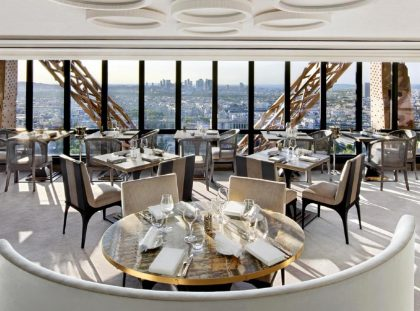 Rediscover Le Jules Verne, A Luxury Restaurant Inside The Eiffel Tower ft luxury restaurant Rediscover Le Jules Verne, A Luxury Restaurant Inside The Eiffel Tower Rediscover Le Jules Verne A Luxury Restaurant Inside The Eiffel Tower ft 420x311