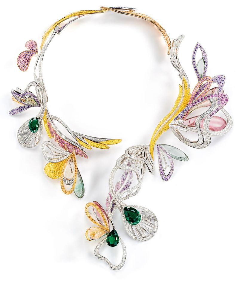 haute couture week Opulent Jewellery Design At Paris Haute Couture Week boucheron 1