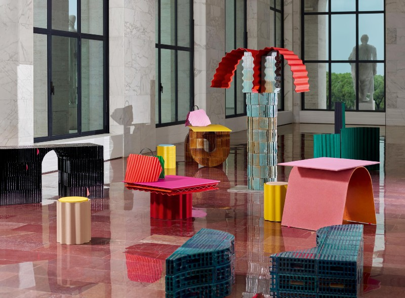 Fendi And Kueng Caputo Design Furniture Collection For It's Rome HQ (1) fendi Fendi And Kueng Caputo Design Furniture Collection For It's Rome HQ Fendi And Kueng Caputo Design Furniture Collection For Its Rome HQ 1