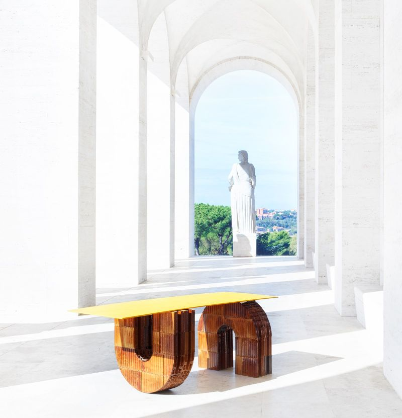 Fendi And Kueng Caputo Design Furniture Collection For It's Rome HQ (2) fendi Fendi And Kueng Caputo Design Furniture Collection For It's Rome HQ Fendi And Kueng Caputo Design Furniture Collection For Its Rome HQ 2