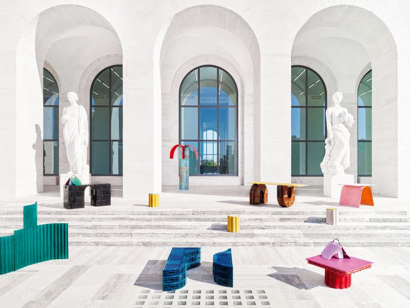 Fendi And Kueng Caputo Design Furniture Collection For It's Rome HQ (4) fendi Fendi And Kueng Caputo Design Furniture Collection For It's Rome HQ Fendi And Kueng Caputo Design Furniture Collection For Its Rome HQ 4