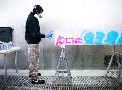 Virgil Abloh Brings Street Grafitti Flair To Galerie Kreo ft virgil abloh Virgil Abloh Brings Street Grafitti Flair To Galerie Kreo Virgil Abloh Brings Street Grafitti Flair To Galerie Kreo ft 420x311