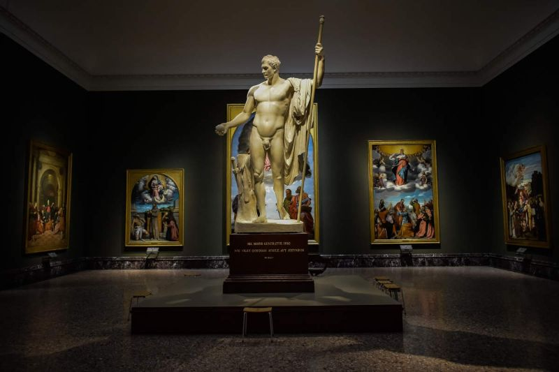 milan museum What To Do In Italy – Contemporary Milan Museums escultura pinacoteca brera