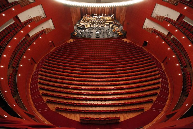 Vittorio Gregotti – A Life Dedicated To Modern Architecture vittorio gregotti Vittorio Gregotti – A Life Dedicated To Modern Architecture Grand Th    tre de Provence inside