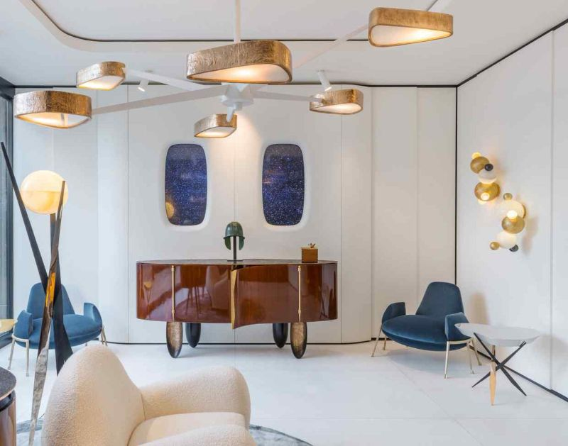 Luxurious and Sophisticated Interiors Brought Us By Achille Salvagni (6)