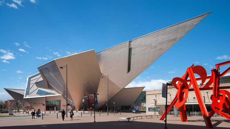 architectural building Imposing Architectural Buildings Featuring Deconstructed Design Denver Art Museum grimes17