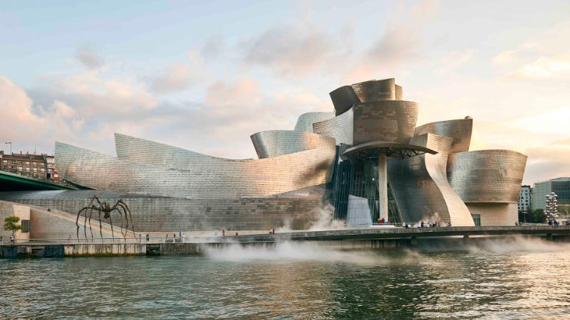 architectural building Imposing Architectural Buildings Featuring Deconstructed Design Guggenheim Museum Bilbao
