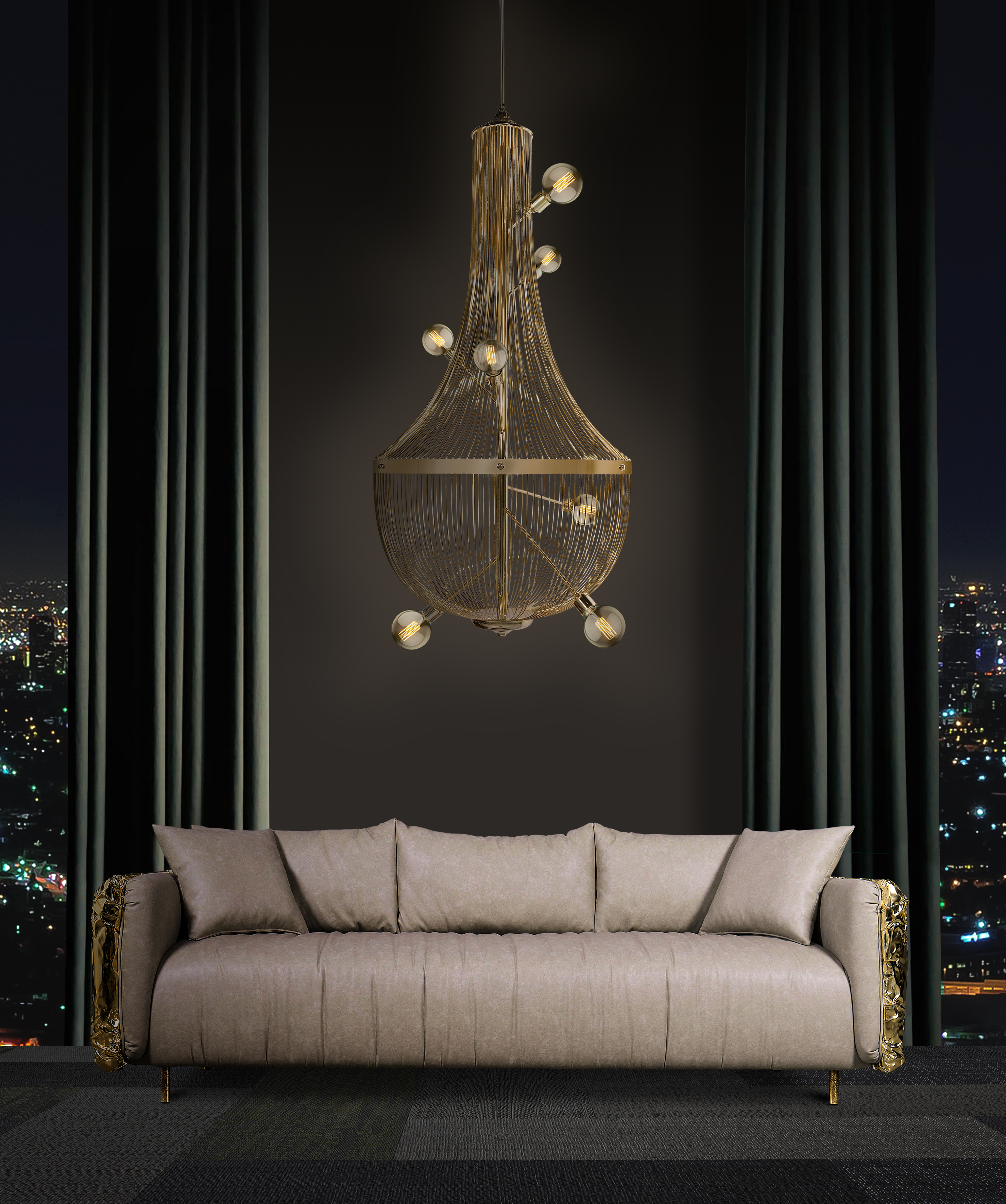 boca do lobo House Of Boca do Lobo – A Digital Experience For Every Design Lover ambience imperfectio sofa and l chandelier
