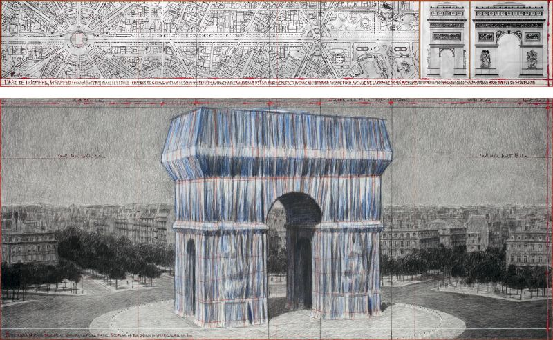 Christo - The Famous Artists Who Wrapped The World christo Christo – The Famous Artists Who Wrapped The World  Arc de Triomphe