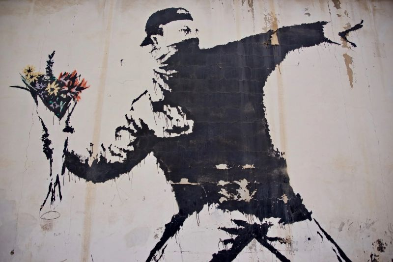 Banksy - A Selection Of The Faceless Artist's Best Artworks (1) banksy Banksy – A Selection Of The Faceless Artist's Best Artworks Banksy A Selection Of The Faceless Artists Best Artworks 1