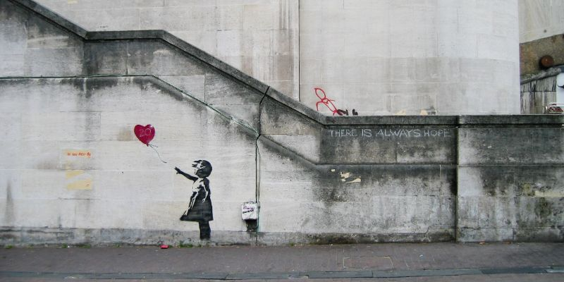 Banksy - A Selection Of The Faceless Artist's Best Artworks (4) banksy Banksy – A Selection Of The Faceless Artist's Best Artworks Banksy A Selection Of The Faceless Artists Best Artworks 4