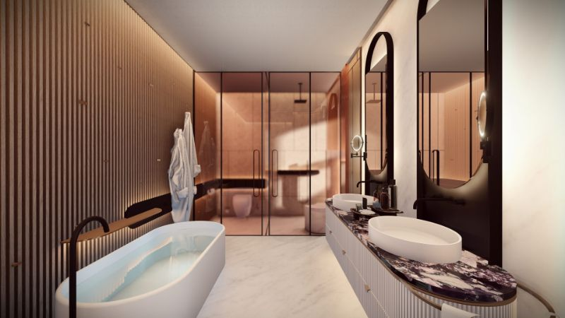 Hôtel Lumière - A Scintillating Luxury Hotel Design By ARRCC (4) arrcc Hôtel Lumière – A Scintillating Luxury Hotel Design By ARRCC H  tel Lumi  re A Scintillating Luxury Hotel Design By ARRCC 4