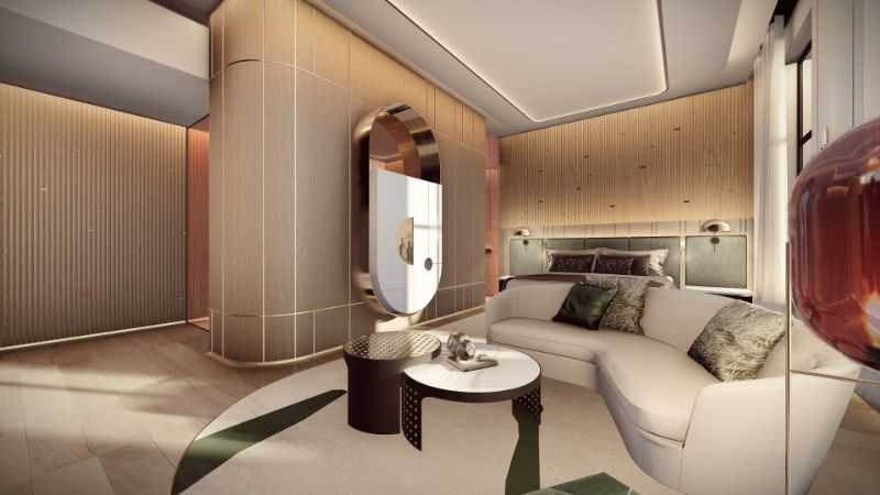 Hôtel Lumière - A Scintillating Luxury Hotel Design By ARRCC (7) arrcc Hôtel Lumière – A Scintillating Luxury Hotel Design By ARRCC H  tel Lumi  re A Scintillating Luxury Hotel Design By ARRCC 7