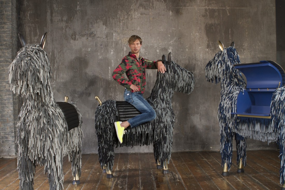 'The Wild Rider', A Equestrian-Inspired Sculpture By Matteo Cibic ft
