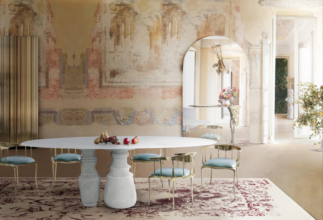 Craftsmanship In Luxury Design – Discover Marble Work and Faux-Marble ft