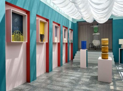 Pierre Yovanovitch's Colourful Boutique For Design Parade Hyères ft pierre yovanovitch Pierre Yovanovitch's Colourful Boutique For Design Parade Hyères Pierre Yovanovitchs Colourful Boutique For Design Parade Hy  res ft 420x311