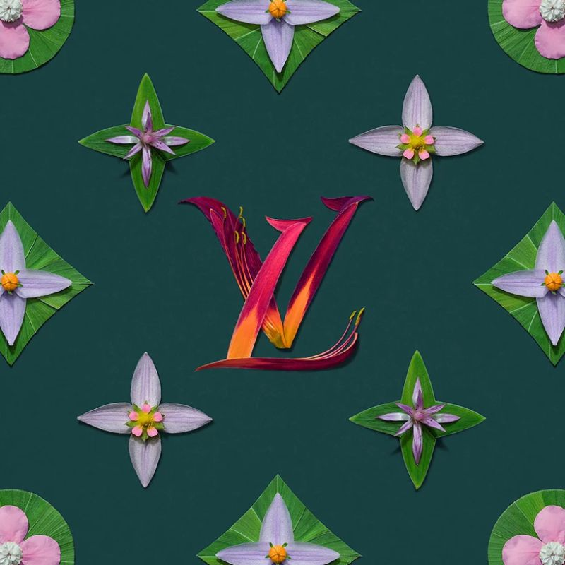 Bright Flower Arrangements Meet Iconic Fashion Brand Patterns (1) fashion brand Bright Flower Arrangements Meet Iconic Fashion Brand Patterns Bright Flower Arrangements Meet Iconic Fashion Brand Patterns 1