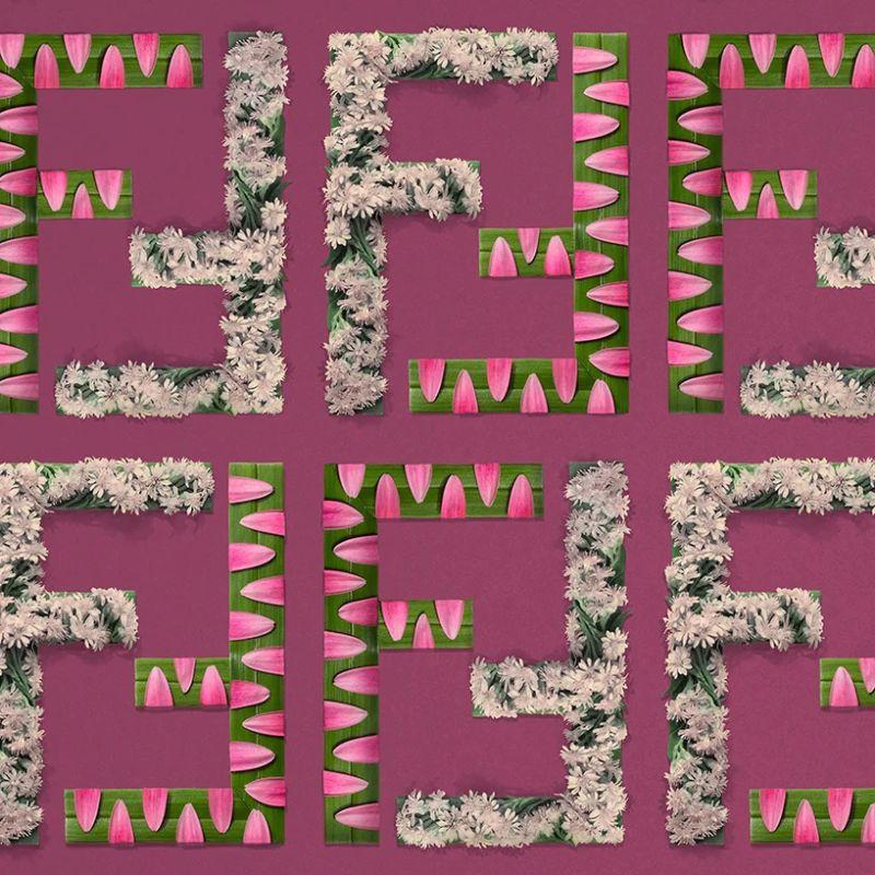 Bright Flower Arrangements Meet Iconic Fashion Brand Patterns (3) fashion brand Bright Flower Arrangements Meet Iconic Fashion Brand Patterns Bright Flower Arrangements Meet Iconic Fashion Brand Patterns 3