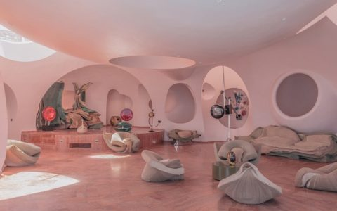 "Nomad Exhibitions' _Bubble Palace_, An Architectural Masterpiece In Théoule-Sur-Mer ft nomad exhibitions Nomad Exhibitions' ""Bubble Palace"", An Architectural Masterpiece In Théoule-Sur-Mer Nomad Exhibitions  Bubble Palace  An Architectural Masterpiece In Theoule Sur Mer ft 480x300"