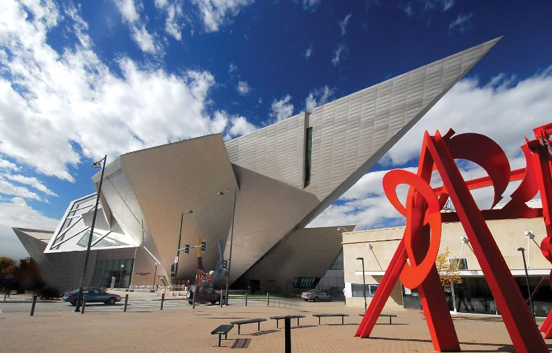 The 15 Most Amazing And Innovative Museum Designs All Over The World museum design The 15 Most Amazing And Innovative Museum Designs All Over The World Denver Art Museum