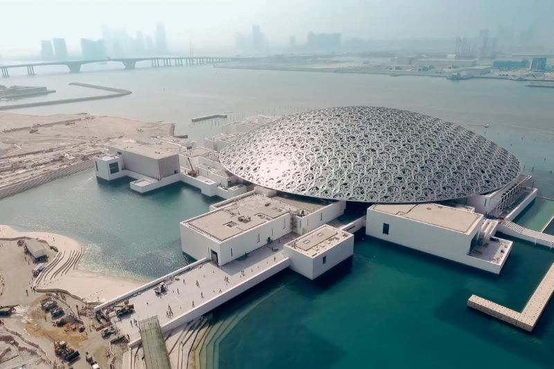 The 15 Most Amazing And Innovative Museum Designs All Over The World museum design The 15 Most Amazing And Innovative Museum Designs All Over The World Louvre Abu Dhabi