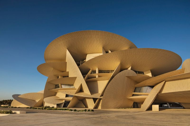 The 15 Most Amazing And Innovative Museum Designs All Over The World museum design The 15 Most Amazing And Innovative Museum Designs All Over The World National Museum of Qatar