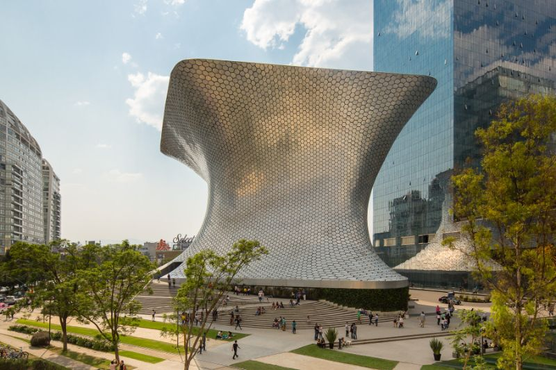 The 15 Most Amazing And Innovative Museum Designs All Over The World museum design The 15 Most Amazing And Innovative Museum Designs All Over The World The Museo Soumaya