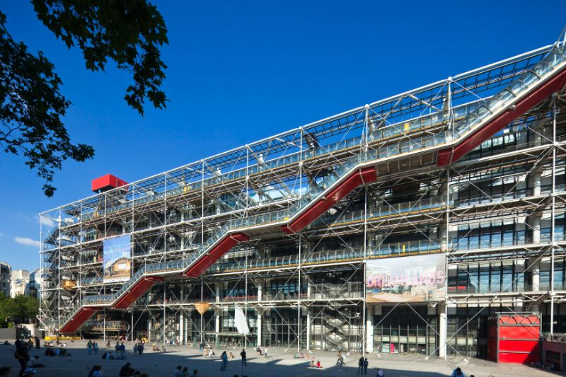 The 15 Most Amazing And Innovative Museum Designs All Over The World museum design The 15 Most Amazing And Innovative Museum Designs All Over The World The Pompidou Center