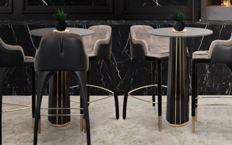 bar tables 20 Furniture Ideas To Complement Your Incredible Private Home Bar feature image 2021 02 23T144933