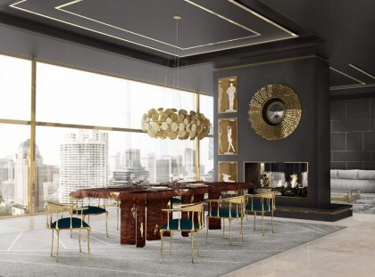 Exclusive Furniture And Lighting Design For A Luxury Dining Room luxury dining rooms Exclusive Furniture And Lighting Design For A Luxury Dining Room n11 chair boca do lobo 01 4200x 1 420x311