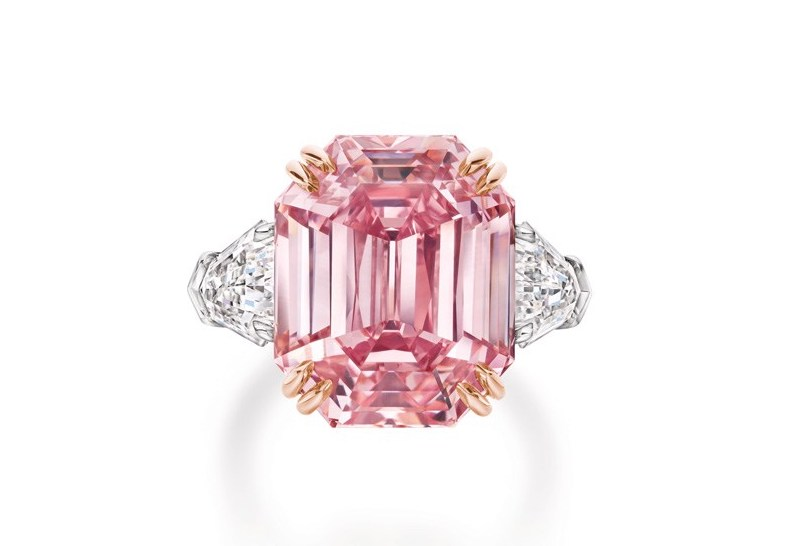 Extremely Rare 19-Carat Pink Diamond Ring by Harry Winston harry winston Extremely Rare 19-Carat Pink Diamond Ring by Harry Winston Extremely Rare 19 Carat Pink Diamond Ring by Harry Winston