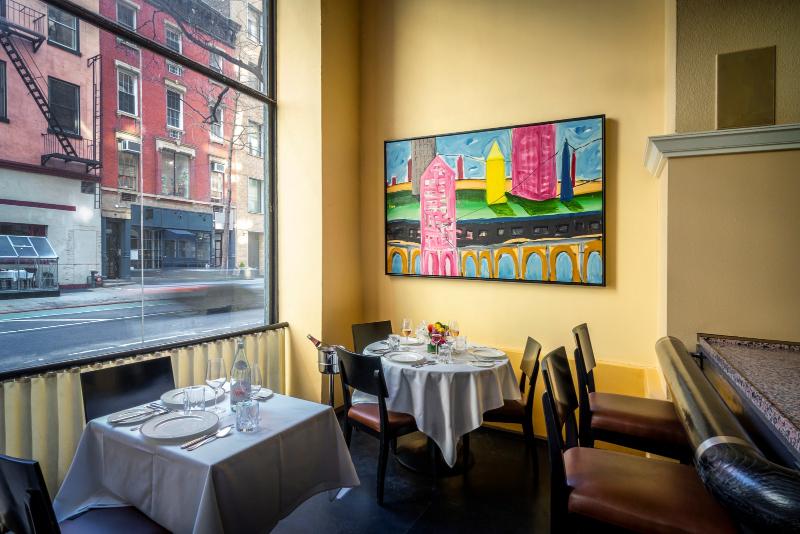 Luxury Restaurants Where Art Is Served-Up luxury restaurant Luxury Restaurants Where Art Is Served-Up Gotham NF 0321 95 1