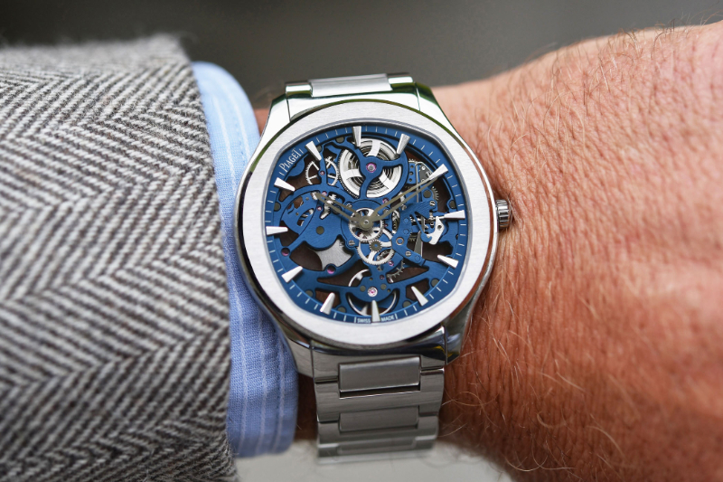 Piaget Reveals New Polo Watch With Skeletonized Movement piaget Piaget Reveals New Polo Watch With Skeletonized Movement Piaget Polo Skeleton Calibre 1200S ultra thin 2021 review 9 1