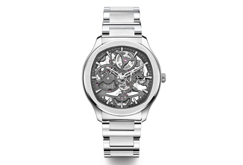 Piaget Reveals New Polo Watch With Skeletonized Movement piaget Piaget Reveals New Polo Watch With Skeletonized Movement Piaget Polo Skeleton grey steel 1