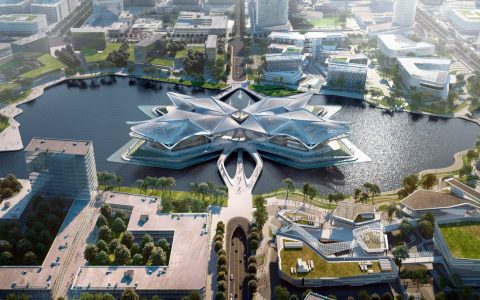 Stunning Cultural Center in Southern China by Zaha Hadid Architects zaha hadid Stunning Cultural Center in Southern China by Zaha Hadid Architects Stunning Cultural Center in Southern China by Zaha Hadid 2 2 480x300